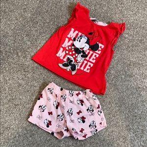 Disney Minnie Mouse Pajama Set